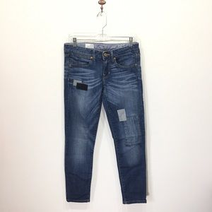 Gap always skinny jeans slim patches patched 4 27